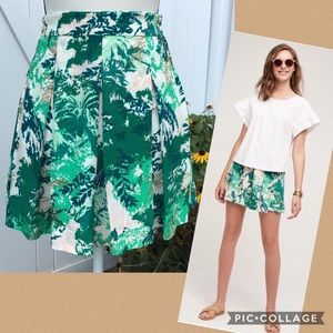 Anthropologie Elevenses Kadu Pleated Skort Size 8
